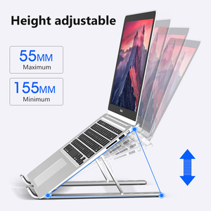Image 2 - Portable Laptop Stand Base Support Notebook Stand For Macbook Computer Tablet Stand Adjustable Table Stand Laptop Holder Bracket