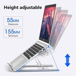 Image 2 - Sostegno pc,Supporto per Laptop portatile supporto per Base supporto per Notebook per Macbook supporto per Tablet per Computer supporto da tavolo regolabile supporto per Laptop
