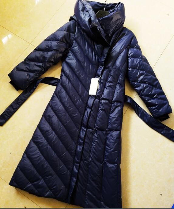 Thick Winter   Coat   Size S-10XL X-Long Women Winter   Down     Coat   Thick Long   Down   Jackets Winter Hooded Women   Down     Coat   With Large Hem