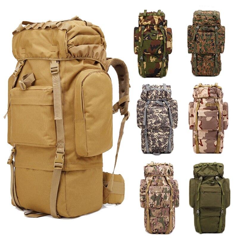 Grand sac à dos de Camping militaire hommes sac de voyage tactique Molle sac à dos d'escalade sac de randonnée sac à dos tactique militaire en Nylon
