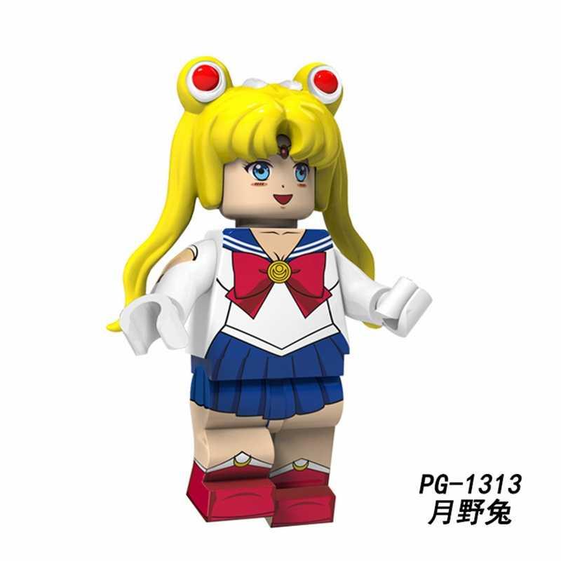 Slam Dunk Kaede Rukawa Hanamichi Sakuragi Hisashi Mitsui Haruko Akagi Nhật Bản Hoạt Hình Anime Nhân Vật Khối Xây Dựng Đồ Chơi Cho Trẻ Em