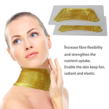 Natural Unisex Moisture Gold Neck Masks Personal Use Skin Care