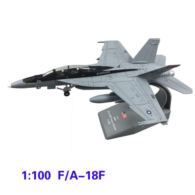 1 100 escala eua hornet f 18 f a 18 boeing militar missil bombardeiro modelo de