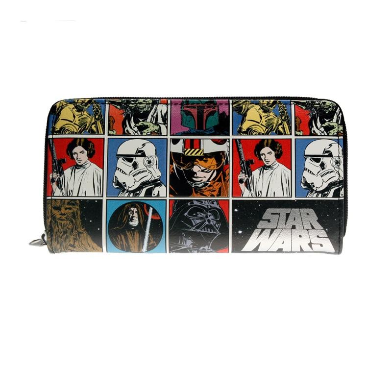 Hot Star Wars Darth Vader Sith Jedi Bifold Leather Wallet Purse Gift US Seller