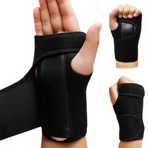 Adjustable Steel Wrist Brace Support Arthritis Sprain Carpal Tunnel Splint Wrap Sport Hurt Recovery Wrap Wape Wholesale(China)
