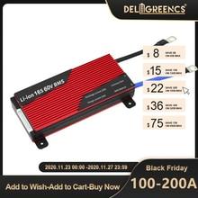 Deligreen 15S 100A 150A 200A 48V BMS עבור LiFePO4 סוללות 18650 הגנת לוח על sccoter ebike