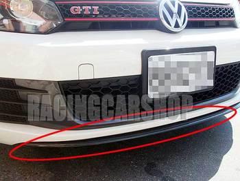 REAL CARBON FIBER FRONT LIP SPOILER Fit For VW GOLF VI GOLF 6 V006 1