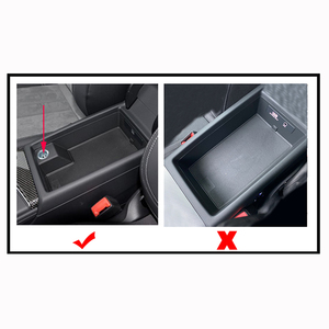 Image 3 - עבור אאודי A4 B9 S4 A5 B8 2017 2018 2019 10w רכב QI טעינה אלחוטי טלפון מטען טעינת מקרה משענת יד תיבת כיסוי אבזרים