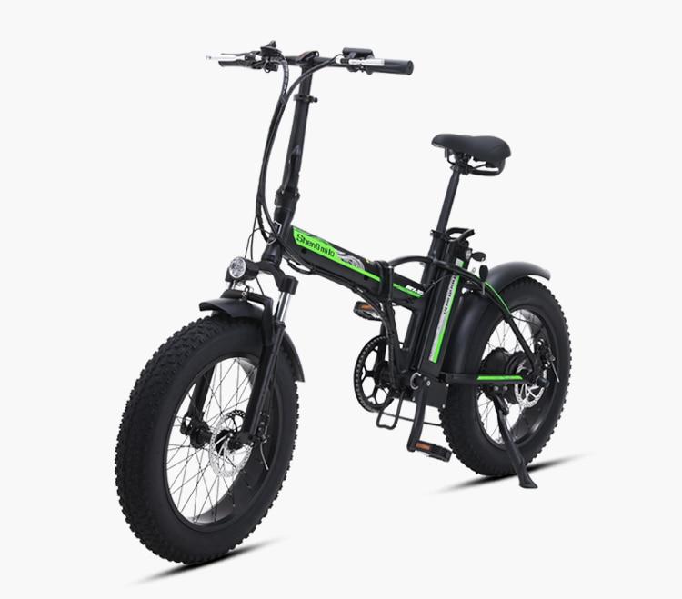 Bicicleta elétrica 4.0 pneu gordo bikeebike praia