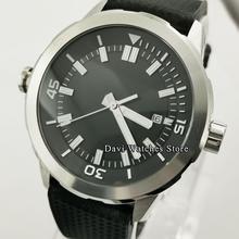 Men's Watch Sterile-Top Corgeut Black Automatic Dial-Date Luminous 45mm Fashion Gift
