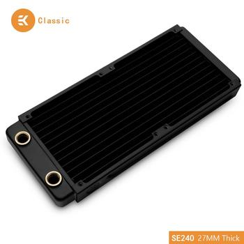EKWB EK-CoolStream Classic SE 240mm Copper Black Thin Radiator 273 x 120 x 27mm (L x W x H) G1/4 ,Water Cooling Heat Dissipation кольцо из серебра tc r00263 вl w x x w