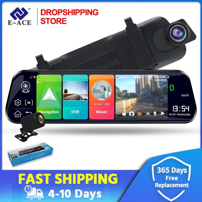 Дропшиппинг Android 8,1 4G Автомобильный видеорегистратор 10