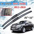 Щетки стеклоочистителя передние для Toyota RAV4 XA40 2013 2014 2015 2016 2017 2018 RAV 4 40