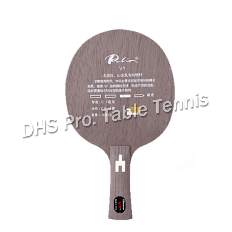 Palio V-1 V1 V 1 (7 Wood+ 4 Carbon) Table Tennis Blade For PingPong Racket