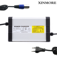 Xinmore 54.6 v 8a 7a carregador de bateria de lítio para trotinette do polímero do li íon 48 v com ce rohs 100 v 240 v ac|battery charger|lithium battery charger|charger for -