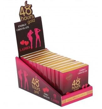For lady aphrodisiac chocolate ginseng epimedium herbal performance sex toys plant roots retardants 48 hour 24G x 12 packet