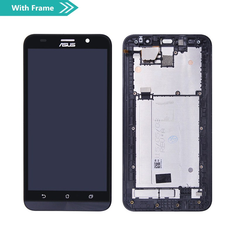 Image 2 - For Asus Zenfone 2 ZE551ML Z00AD LCD Display Touch screen digitizer Assembly Repair For Asus ZenFone 2 ZE551ML LCD Screen-in Mobile Phone LCD Screens from Cellphones & Telecommunications on
