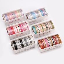 Masking-Tape Cute Stickers Stationery-Supply Scrapbooking Diary DIY Heart 10pcs/Set