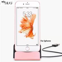 Fiuzd USB Cable Data Phone iphone dock station For iPhone X XS Max XR 6 6S 7 8 Plus 5 SE Mobile phone stand charger