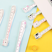 Cat Ruler Cute Rulers Novelty Stationery Kawaii Student Design Ruler Set of Drafting Rules Student Stationery School Supplies