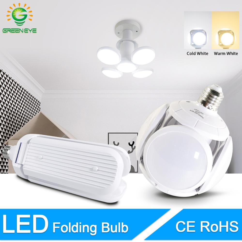 LED Bulb E27 40W 30W Cold White Warm White AC 85-265V Bombilla Spotlight Lampada LED Light Football UFO Lamp LED Bulb For Home