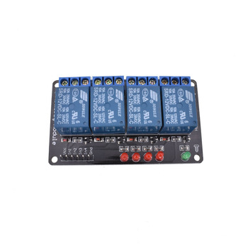 цена на DC 12V indicator LED four 4 Kanal relay modules for  ARM PIC AVR DSP Relais wireless electronic compatible board
