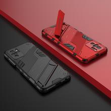 Armor Rugged Shockproof Stand Cover Voor Xiaomi Redmi Note 10 10S Case Hard Cover Voor Xiaomi Note10 Note 10S 10 Pro Max 5G Gevallen