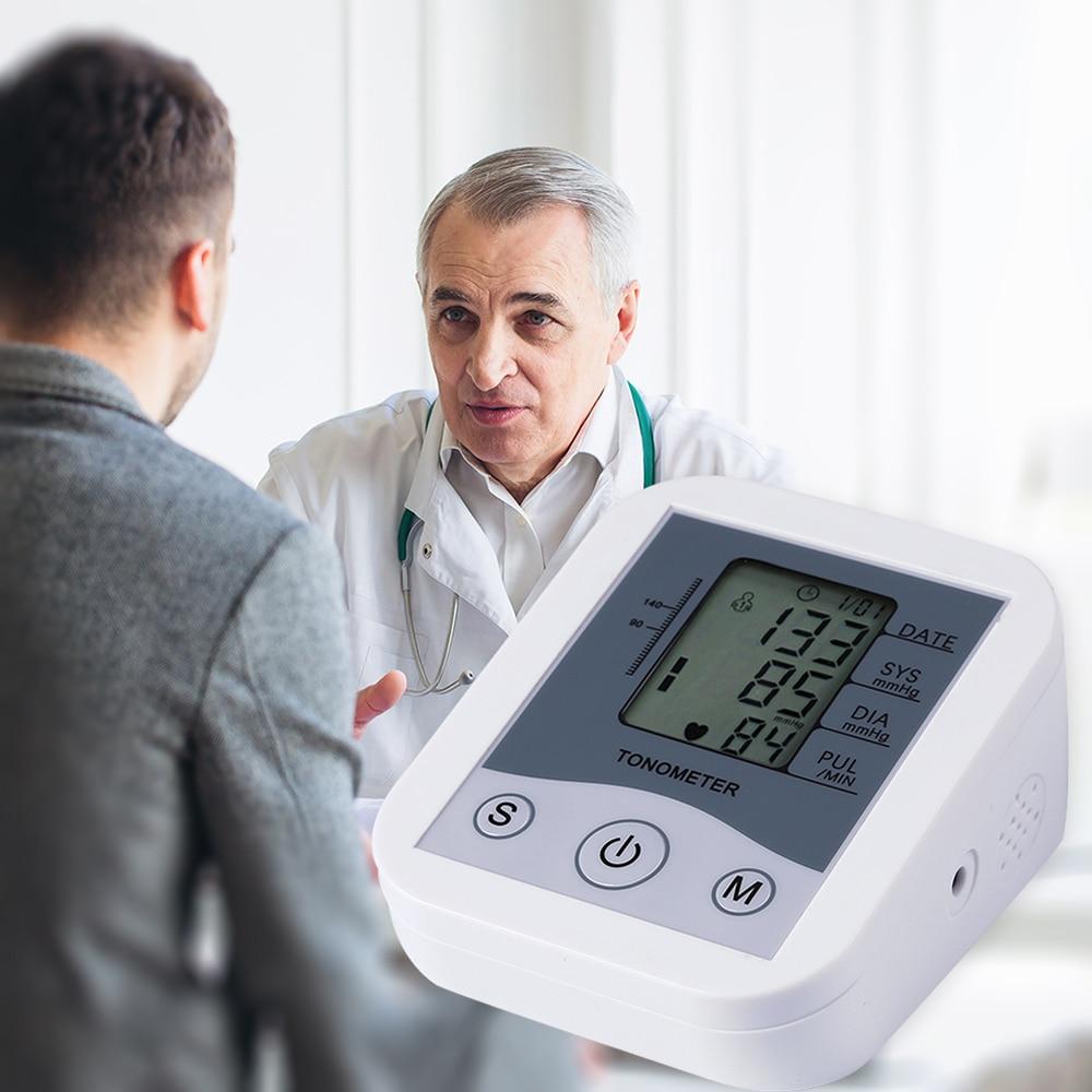 Image 2 - LCD Digital Display Arm Blood Pressure Monitor Pulse Scanning Oscillometry Two Measuring Method for Measuring Pulse RateBlood Pressure   -