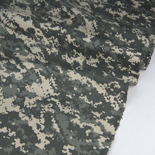 Clothing ACU Digital Camouflage Fabric Us-Army Cotton Twill Mosaic Gray Beige Polyester