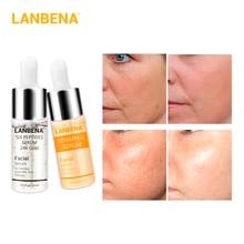 LANBENA Vitamin C Serum+Six Peptides Serum 24K Gold Anti-Agi