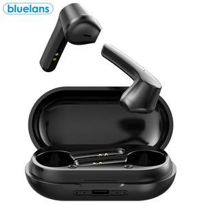 LB-20 TWS Bluetooth 5,0 Mini водонепроницаемые Беспроводные спортивные наушники-вкладыши с шумоподавлением и сенсорным управлением