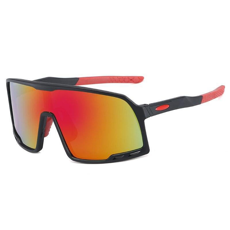 2020 пластиковые унисекс спортивные солнцезащитные очки оправа большого размера ветрозащитные uv400 Защитные туристические солнцезащитные оч...