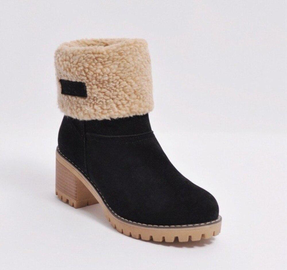 Bottines de neige pour femme