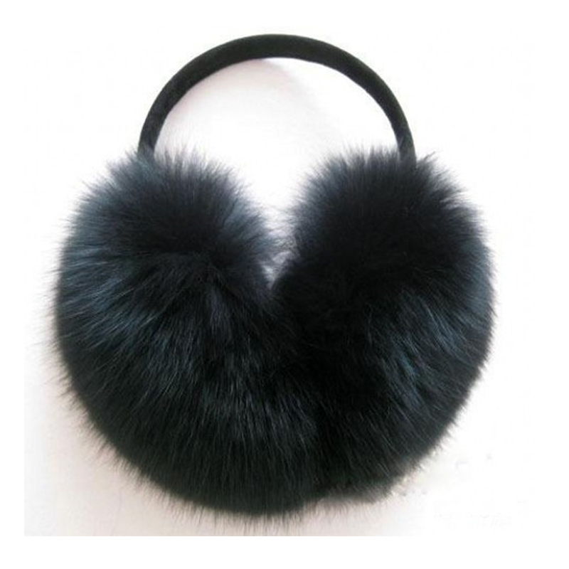 Winter Faux Fox Fur Warm Earmuff Fashion Cute Plush Folding Women Male Korean Big Hair Fur Keep Ear Warmers Wear Muffs Orejeras