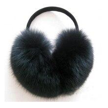 Winter Faux Fox Fur Warm Earmuff Fashion Cute Plush Folding Women Male Korean Big Hair Keep Ear Warmers Wear Muffs Orejeras