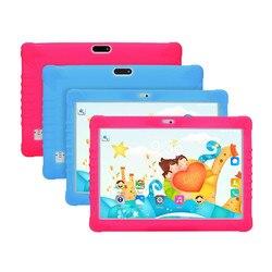 Планшетный ПК для детей, Android 6,0, 16 ГБ, IPS, 10,1 дюйма, Bluetooth, Wi-Fi, чехол в комплекте, высококачественные покупки