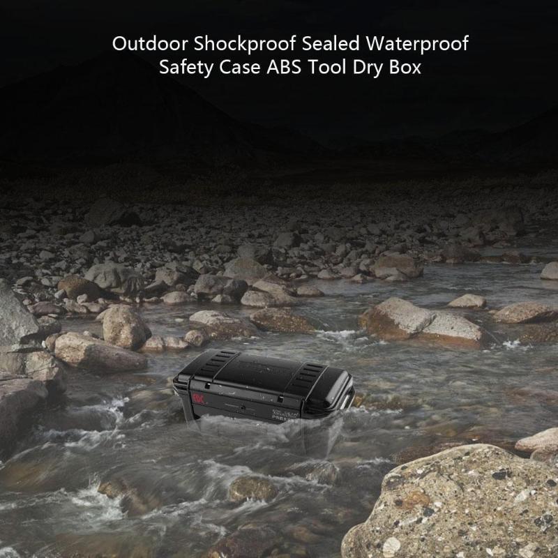 Outdoor Tool Box Portable Dry Shockproof Sealed Waterproof Safety Case ABS Plastic Tool Waterproof Box Organization Storage Tool