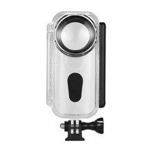 Boîtier de plongée boîtier étanche boîtier de protection pour caméra panoramique sous marin 5M/16.4Ft pour Insta 360 One X Camera