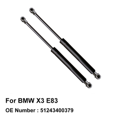 Tailgate Trunk Lift Cylinder Gas Pressurized Spring 51243400379 for BMW X3 E83 2003 2004 2005 2006 2007 2008 2009 2010