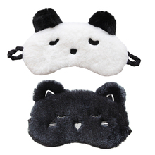 2pcs Eye Mask Plush Lightweight Sleeping Patch For Women Cover Safe