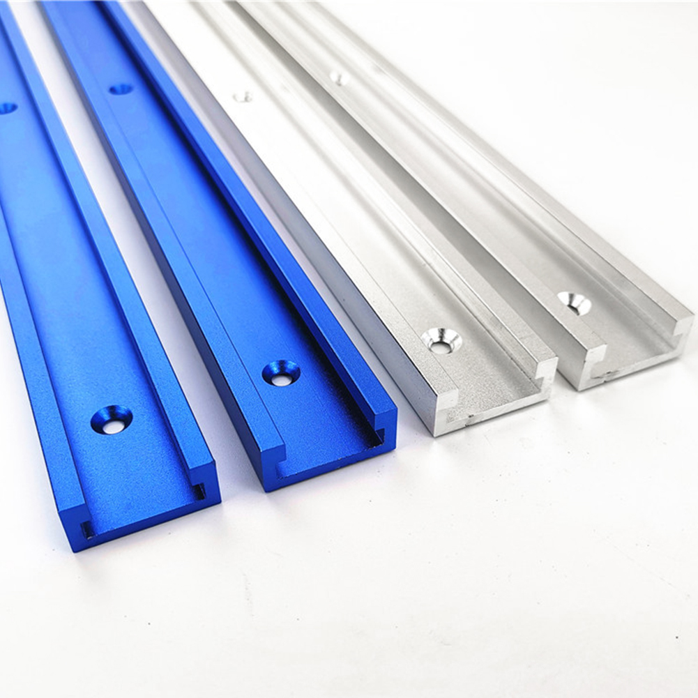 T Slot Miter Track For Router Table Jig Professional Sliding Aluminum Alloy Bandsaws Fixture DIY Woodworking Portable Tool