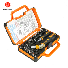 FGHGF 69 In 1 Ratchet Precision Screwdriver Set Screw Driver Repair Tool Kit With Handle For Car Bicycle