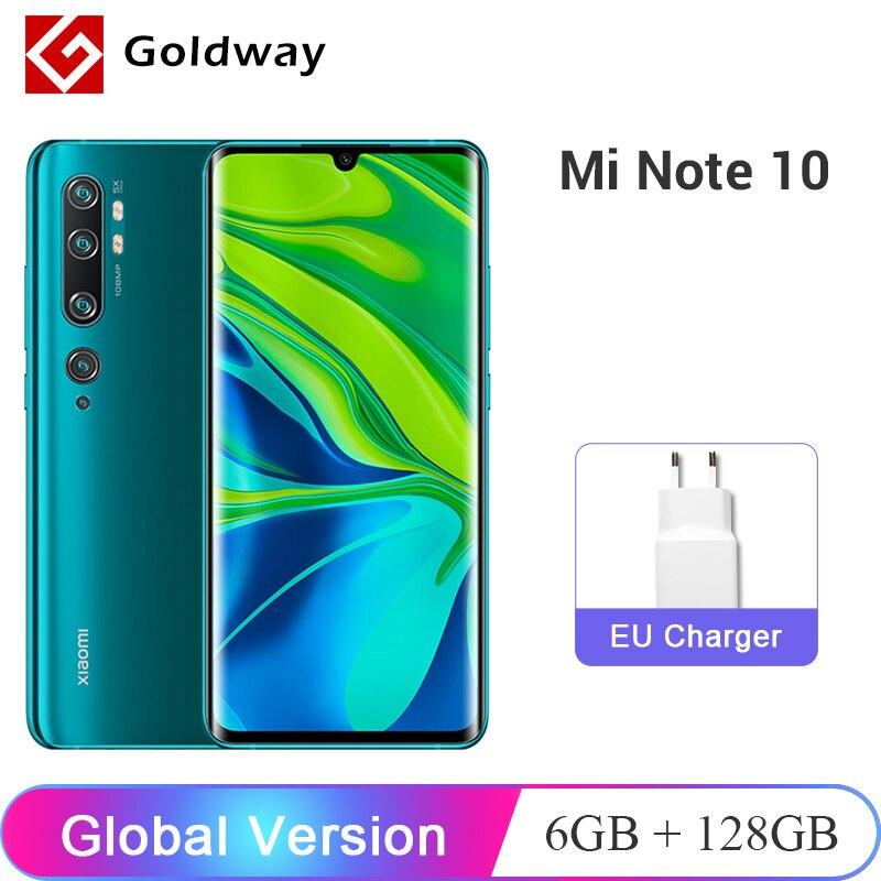 Global Version Xiaomi Mi Note 10 Pro 6GB 128GB / 8GB 256GB 108MP Penta Camera Smartphone Snapdragon 730G Octa Core 5260mAh|Cellphones|   - AliExpress
