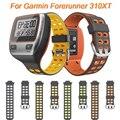 Ремешок для наручных часов Garmin Forerunner 310XT, спортивный силиконовый сменный Браслет для смарт-часов Forerunner 310 XT, ремешок Correa