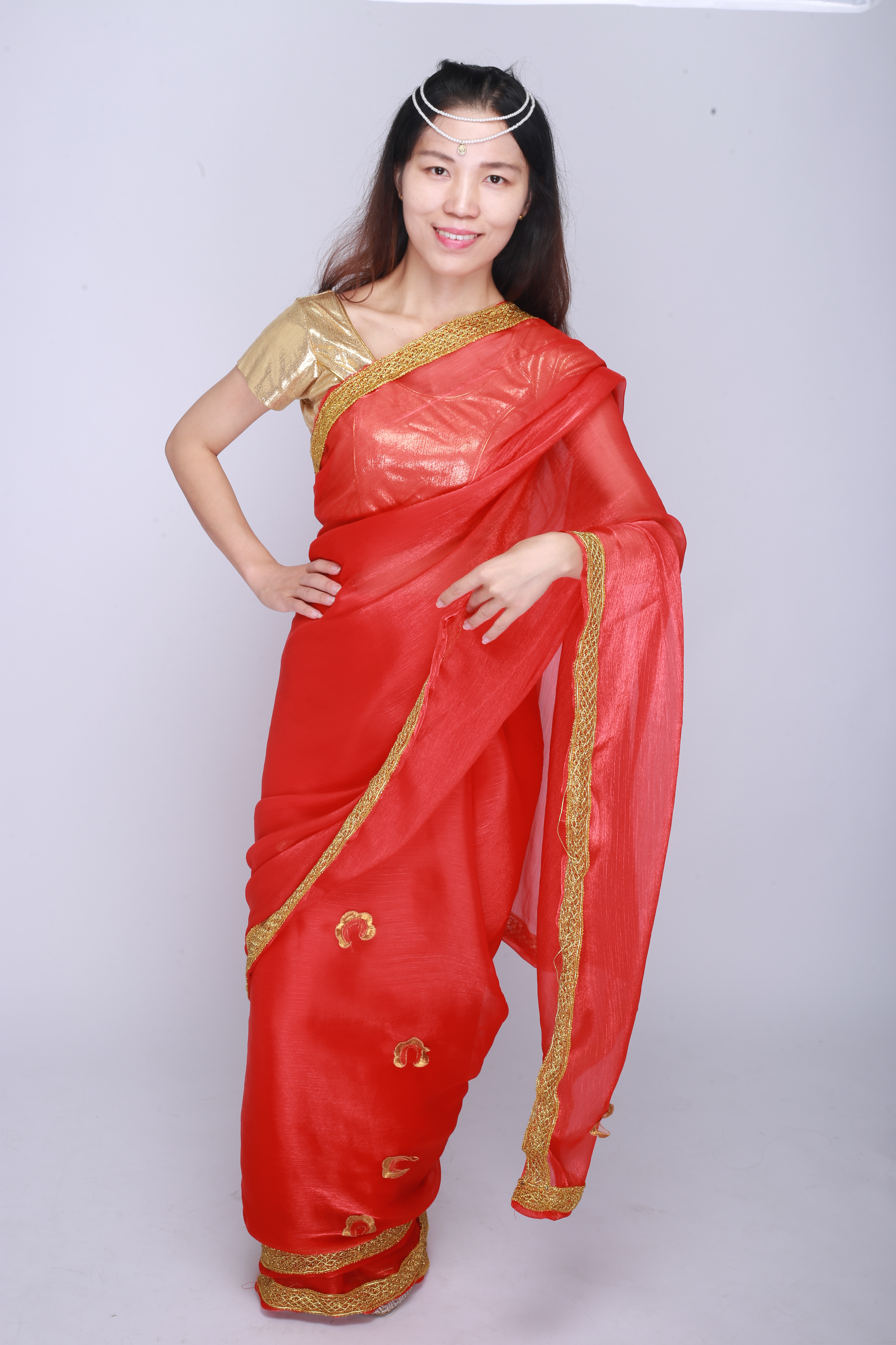 Indian Pakistani Dress Wedding Party Dress Sally For Women Clothing Red In Sari For Women In India India Pakistan Clothing Aliexpress