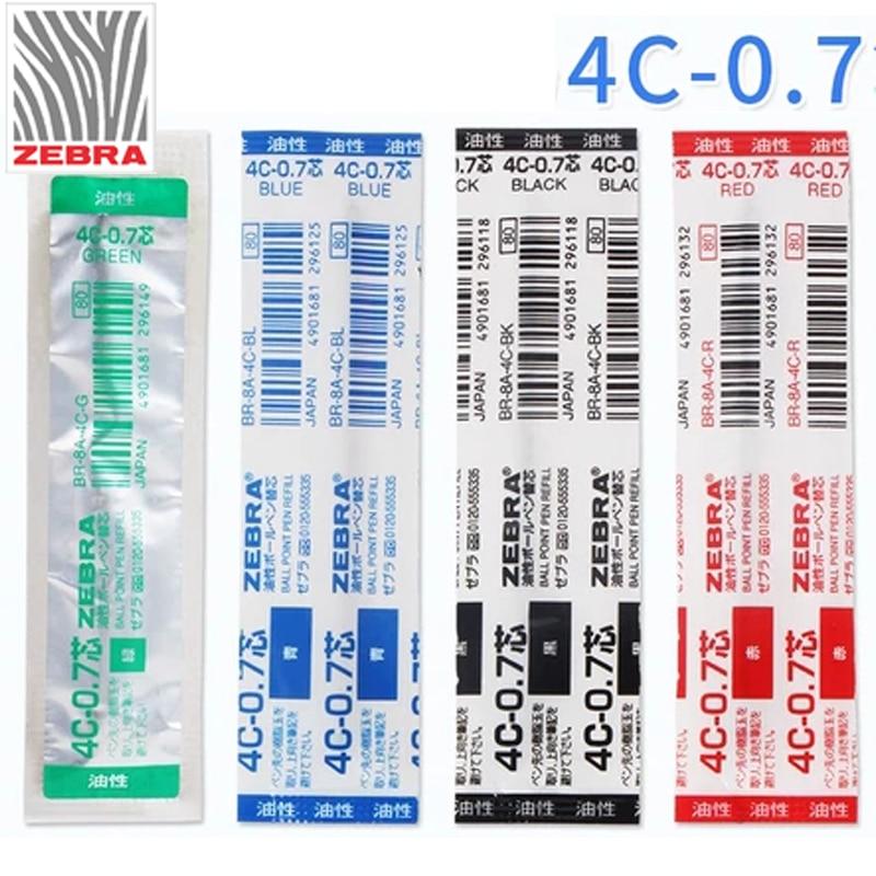 ZEBRA T-3 ball point pen mini pen BLUE INK I 10PCS 10PCS BLACK INK REFILL
