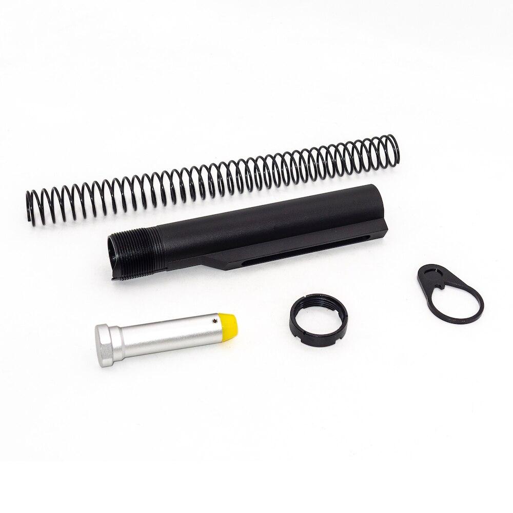 Tactical AR15 защелка Mil-spec 6 Положение буфера удлинительная трубка стержень в сборе/комплект 5 предметов комбинированный цилиндр стержень