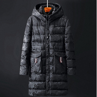 8XL 9XL 10XL Thick Warm Jacket Parka Man Women Cotton Padded Camouflage Long Coat Hooded Parkas Black Plus Size Winter Outwear