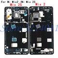 Для Xiaomi mi Mix 2 mi x2/для Xiaomi mi Mix 2S mi x2S передний корпус шасси пластина ободок ЖК-дисплея Лицевая панель рамка + боковые клавиши