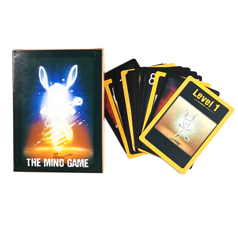 The Mind Card Games Cute Pandasaurus Fun For Children Adults Kids Gifts Toys Home Party Fun Board Game